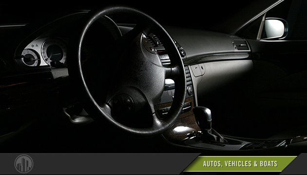Photo of a car interior. Login to find savings on autos, vehicles & boats.